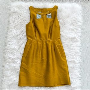 Anthropologie Maeve Gold Dress